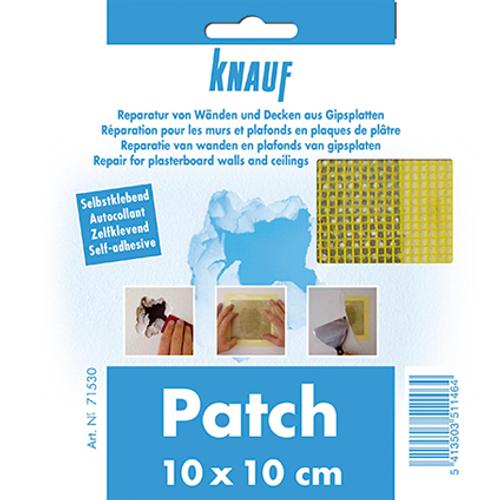 Patch de réparation Knauf 10 X 10 cm