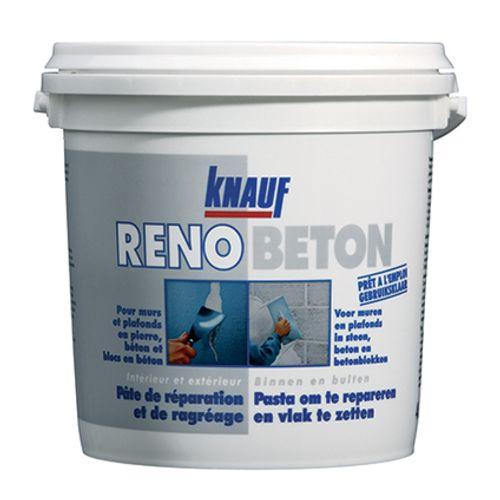 Knauf pasta om te repareren en vlak te zetten 'Renobeton' 1 L