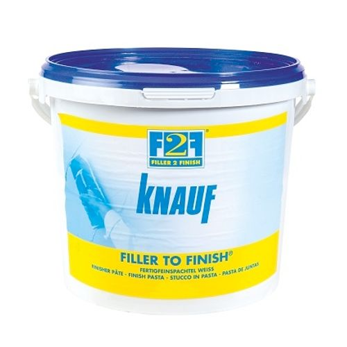 Knauf voegpasta 'Filler to Finish' 20 Kg