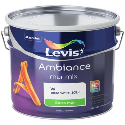 Muurverf Levis Ambiance Muren base W extra mat 10L