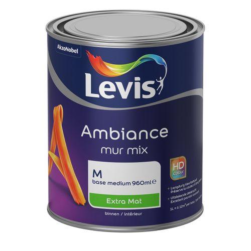 Levis muurverf Ambiance Mur base M extra mat 1L