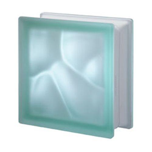 Brique de verre Verhaert 'Verde' satin