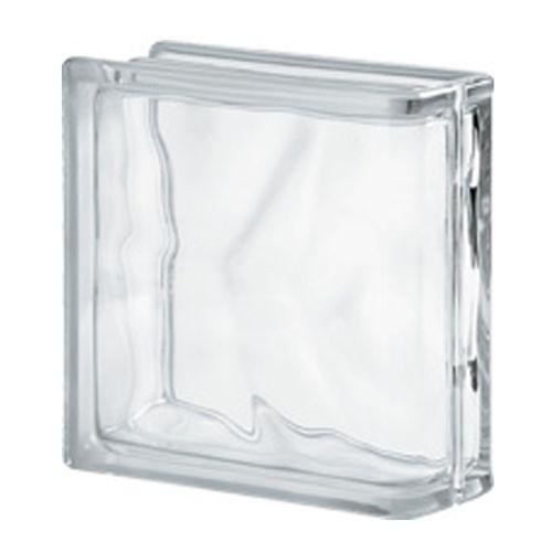 Brique de verre Verhaert nuageuse lineair