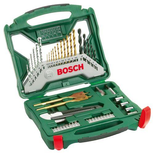 Bosch X-Line titanium boren- en schroefbitset 50-delig