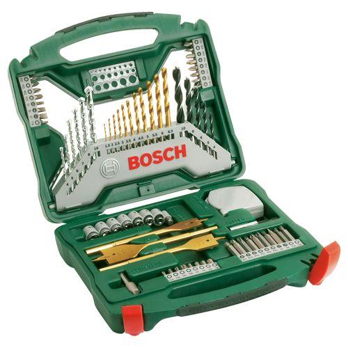 Set d'accessoires Bosch 'X-line' titanium - 70 pcs