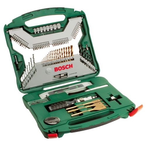 Bosch boor- en bitset X-line titanium 100-delig