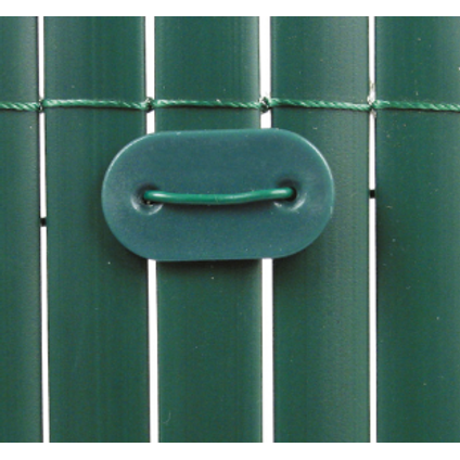 Fixation canisse 'Fixcane' vert – 26 pcs