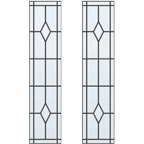 CanDo glas-in-lood Berlijn ML 660 of ML 665 201,5 I 211,5 x 93cm 2 stuks