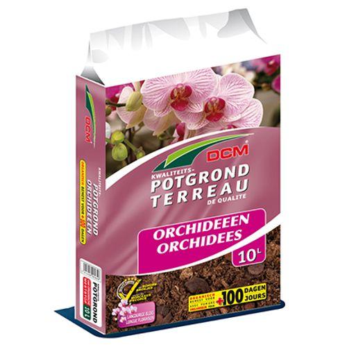 Terreau pour orchidées DCM 10 L