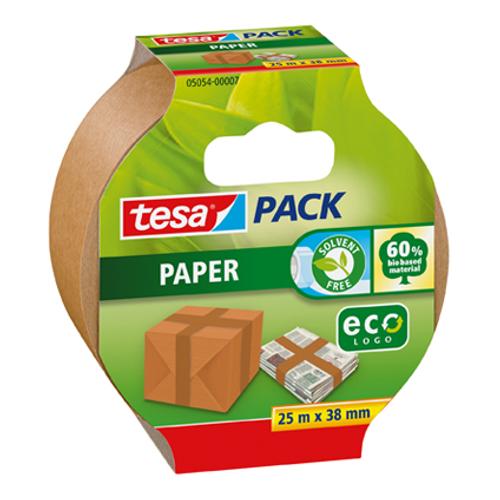 Tesa verpakkingstape Papier Eco 25m x 38mm