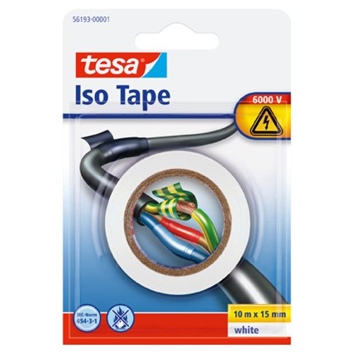 "Tesa ""iso tape"" wit 10mx15mm"