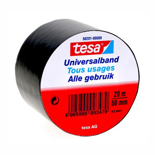Tesa isolatietape zwart 20mx50mm
