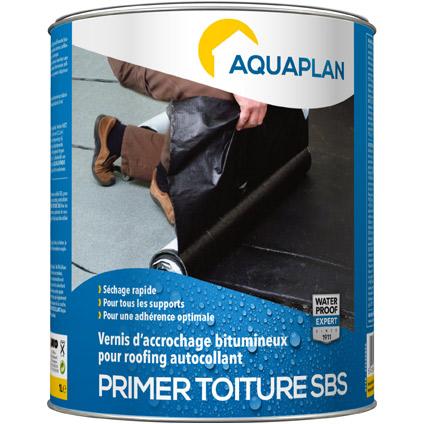 Primer Toiture SBS Aquaplan - Membr. d'étanchéité adh.1 L