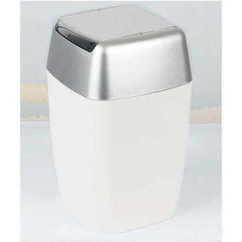 Spirella afvalbak Retro wit 7L