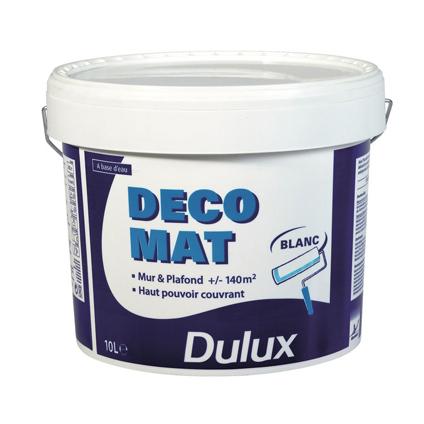 Dulux latex verf 'Déco' wit mat 10L
