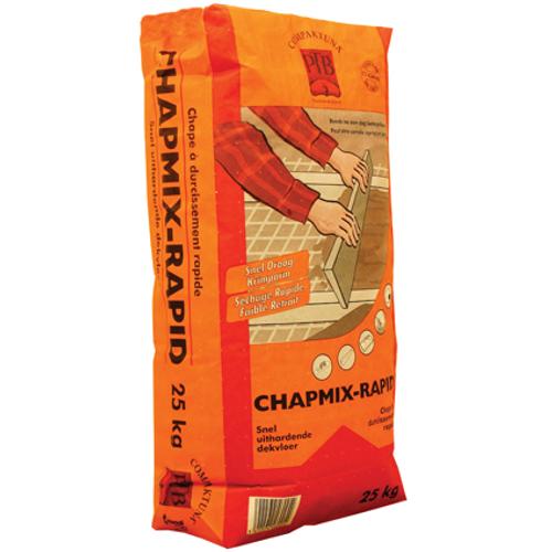 PTB-compaktuna snel uithardende dekvloer 'Chapmix-rapid' 25 kg