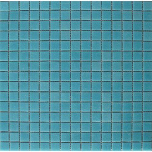 Mozaïek tegel glas lichtblauw 32,5x32,5cm