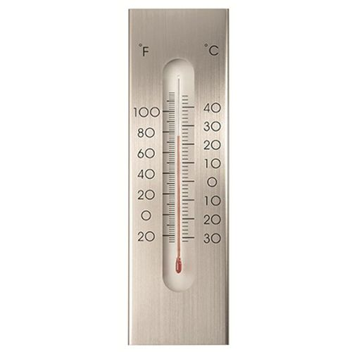 Nature thermometer muur 'Kelvin 7'