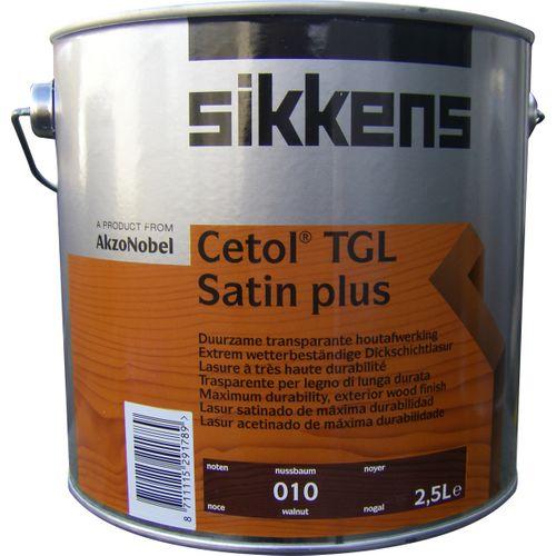 Sikkens 'Cetol TGL Satin plus' satijn noten 2,5L