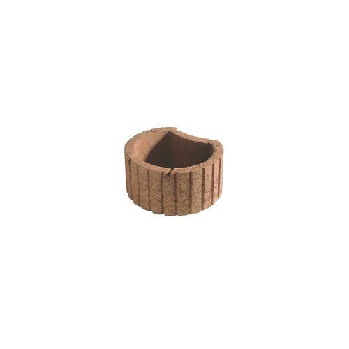 Bac à fleur Coeck béton Mini brun 35x28x20cm