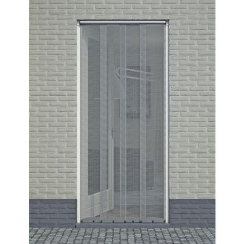 Rideau moustiquaire anthracite 2,2 x 0,95 m
