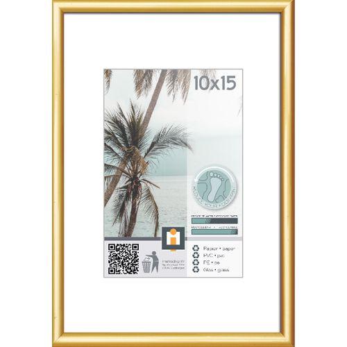 Intertrading fotolijst goud 10 x 15 cm