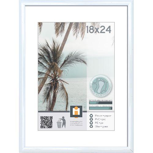 Intertrading fotolijst wit 18 x 24 cm