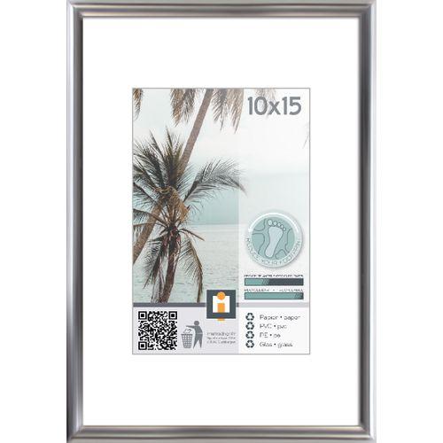Intertrading fotolijst zilver 10 x 15 cm