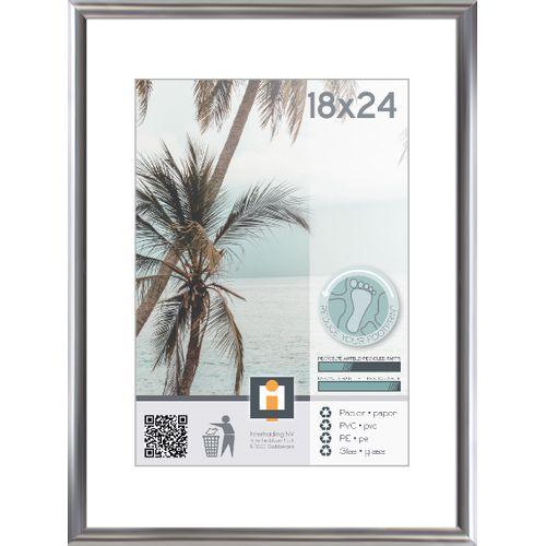 Intertrading fotolijst zilver 18 x 24 cm