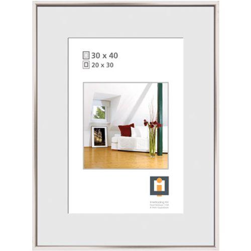 Intertrading fotolijst zilver 30 x 40 cm