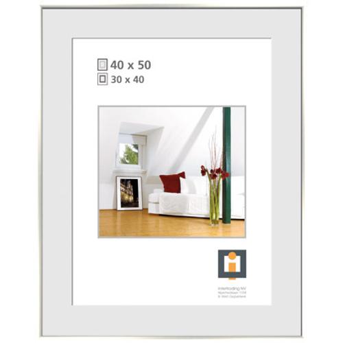Intertrading fotolijst zilver 40 x 50 cm