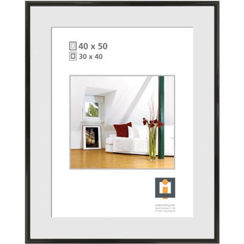 Intertrading fotolijst zwart 40 x 50 cm
