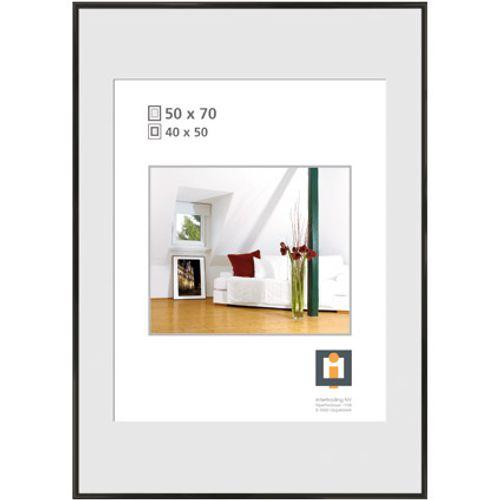 Intertrading fotolijst zwart 50 x 70 cm