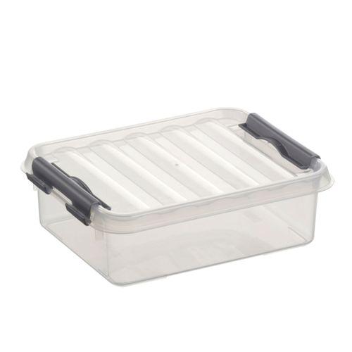Boîte de rangement Sunware 'Q-line' 1L transparent