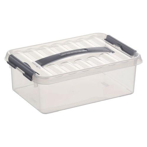 Boîte de rangement Sunware 'Q-line' 4L transparent