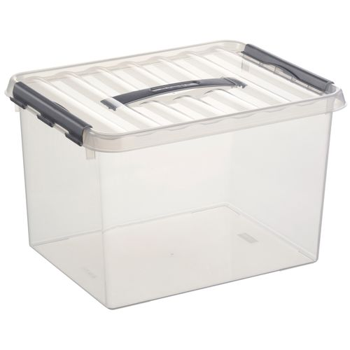 Boîte de rangement Sunware 'Q-line' 22L transparent