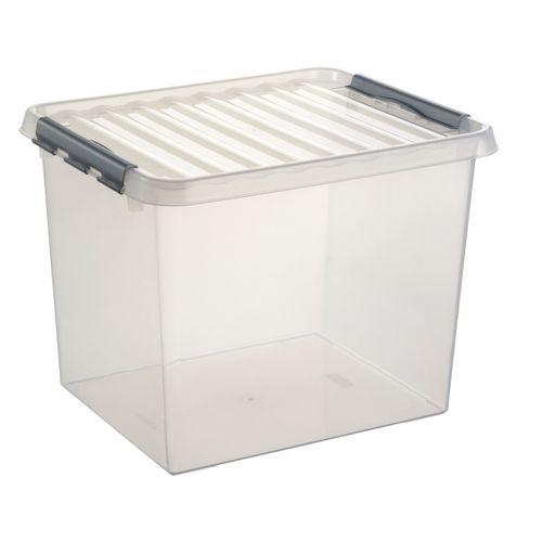 Boîte de rangement Sunware 'Q-line' 52L transparent