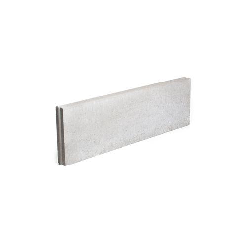 Bordure béton Coeck 100x30x6cm gris T&M