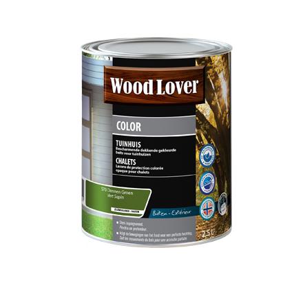 Lasure Wood Lover 'Color Chalet' vert sapin 2,5L