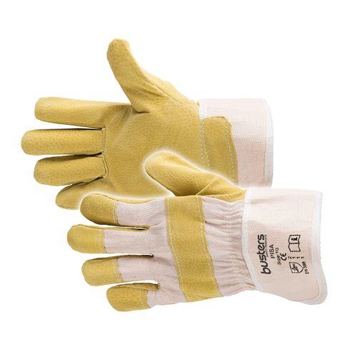 Busters handschoenen Pisa leder geel M10