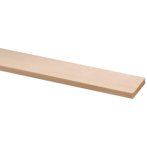 Geschaafd hout vuren 270 x 3,5 x 0,7 cm
