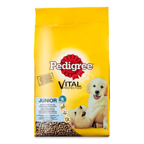 Pedigree Vital junior kip & rijst 10 kg