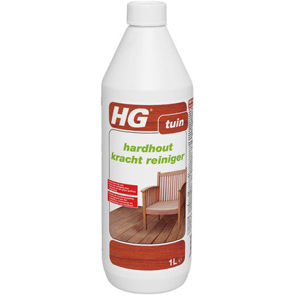 Nettoyant puissant pour bois d'essences tropicales HG 'Jardin' 1 L