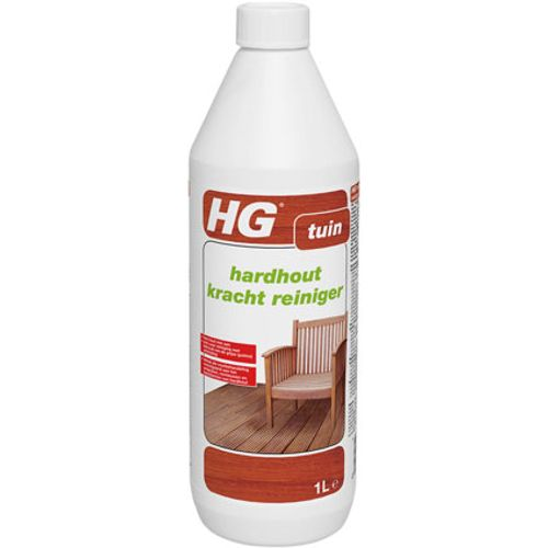 HG hardhout kracht reiniger 'Tuin' 1 L