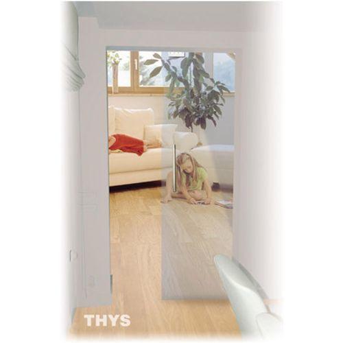 Porte coulissante en verre sécurit Thys 'Thytan Sliding' clair 215x83cm