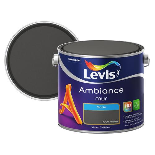 Levis muurverf 'Ambiance' magma satijn 2,5L