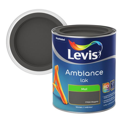Laque Levis Ambiance magma mat 750ml