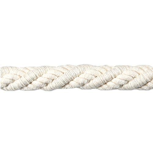 Embrasse cordon cable écru 12 mm
