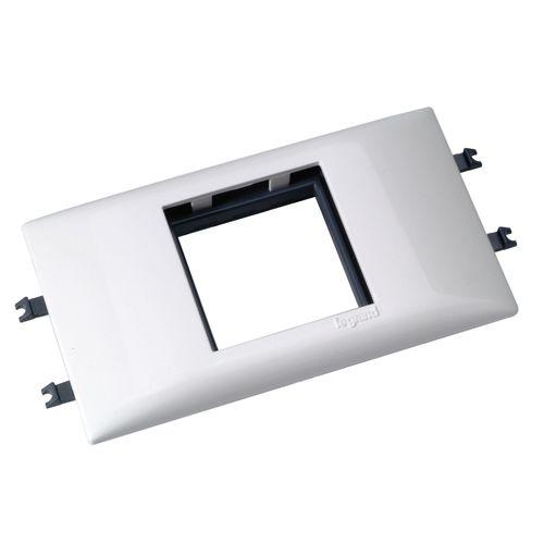 Mosaic support 2 modules Legrand DLP blanc 35 x 80 mm