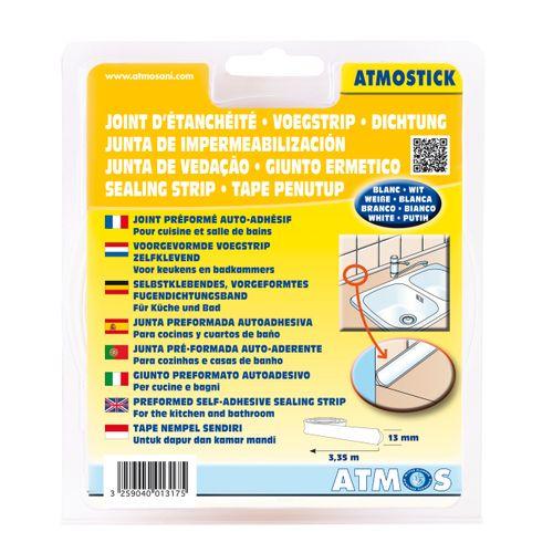 Joint d'échantéité préformé Atmos 'Atmostick' auto adhésif 13 mm